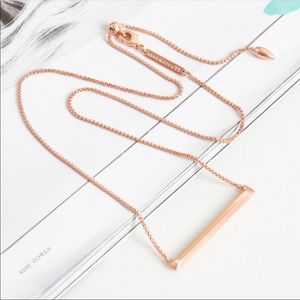 Kendra Scott Kelsey Pendant Necklace In Rose Gold